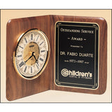 Service Award, American_Walnut_Clock
