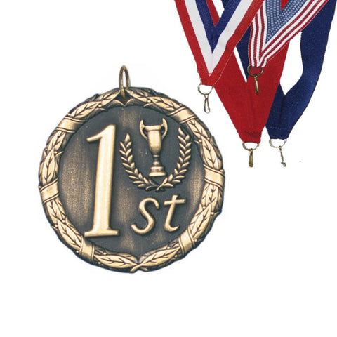 1st Place XR Medal, 2""