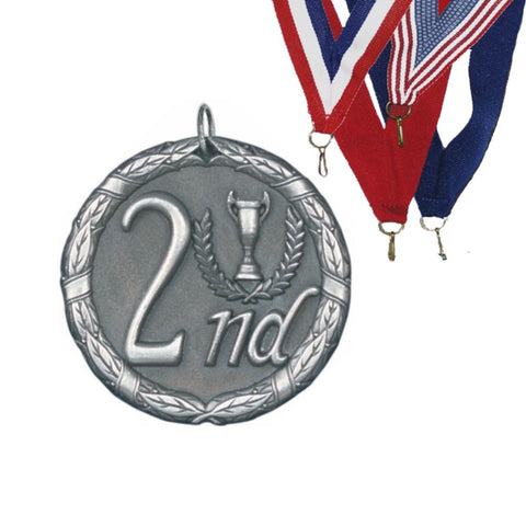2nd Place XR Medal, 2""