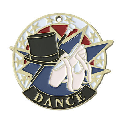 "Dance USA Sport Medal, 2"" in gold"