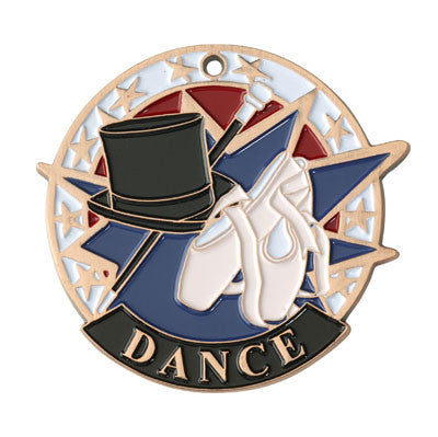 "Dance USA Sport Medal, 2"" in bronze"