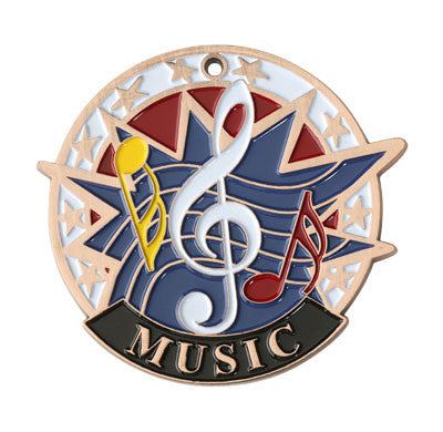 "Music USA Sport Medal, 2"" in bronze"