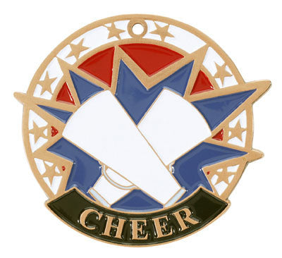 "Cheer USA Sport Medal, 2"" in bronze"