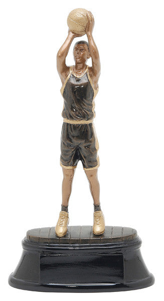 Basketball, Male, Power Resin, Small