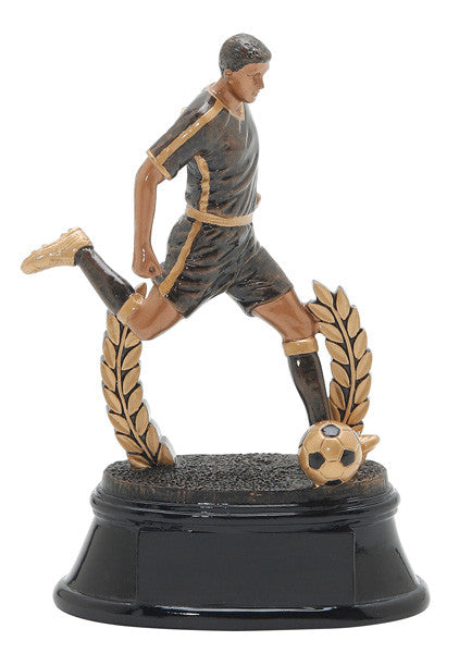 Soccer, Male, Power Resin, Small