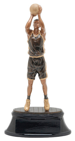 Basketball, Male, Power Resin, Medium