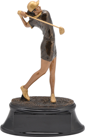 Golf, Female, Power Resin, Medium