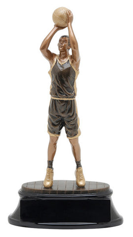 Basketball, Male, Power Resin, Large