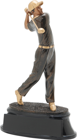 Golf, Male, Power Resin, Large