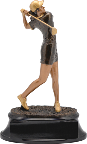 Golf, Female, Power Resin, Large