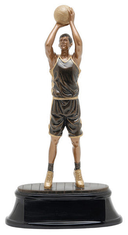 Basketball, Male, Power Resin, Extra Large