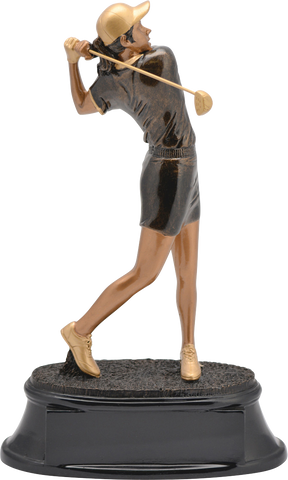 Golf, Female, Power Resin, Extra Large
