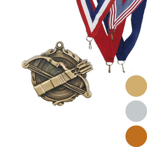 Archery Wreath Medal, 1 3/4""