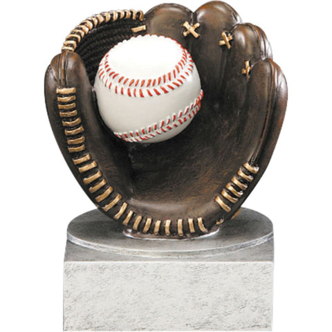 Baseball Color Tek Resin Trophy