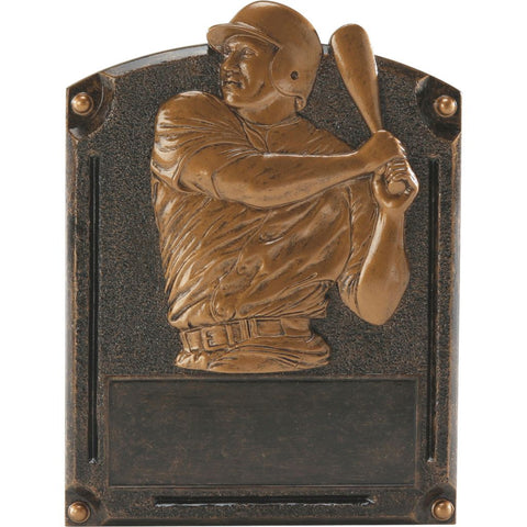 Baseball Legends of Fame Resin Trophy, 2 Sizes