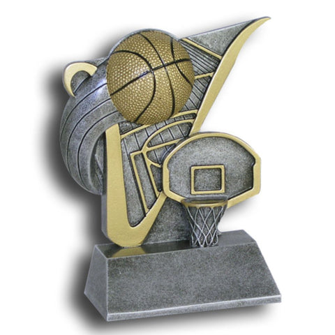 Basketball Value Line Resin Trophy
