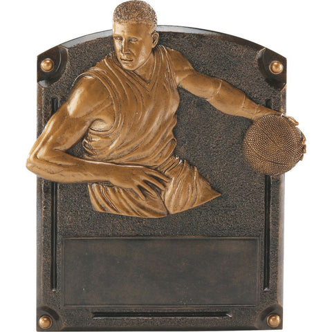 Basketball, Male, Legends of Fame Resin Trophy, 2 Sizes