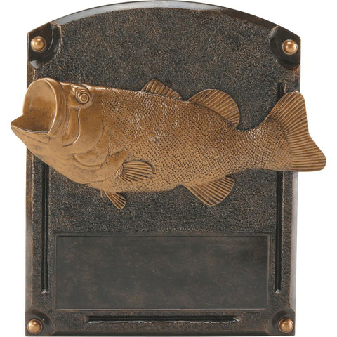 Bass Fishing Legends of Fame Resin Trophy
