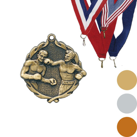 Boxing Wreath Medal, 1 3/4""