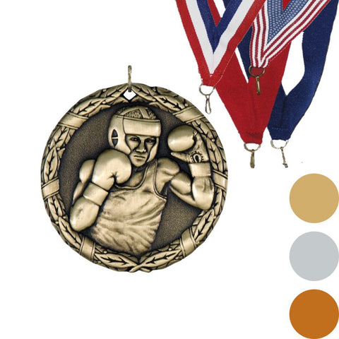 Boxing XR Medal, 2""