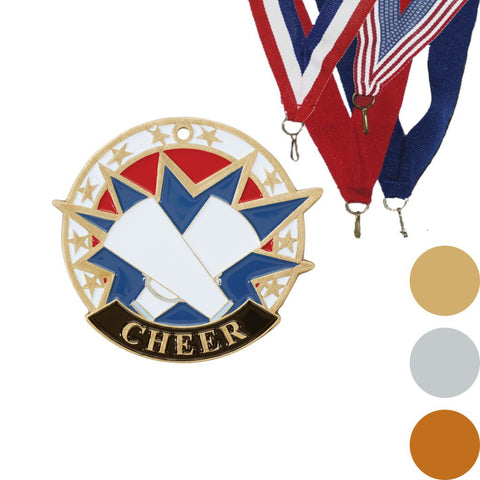Cheer USA Sport Medal, 2""
