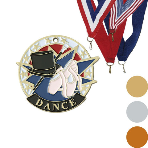 Dance USA Sport Medal, 2""