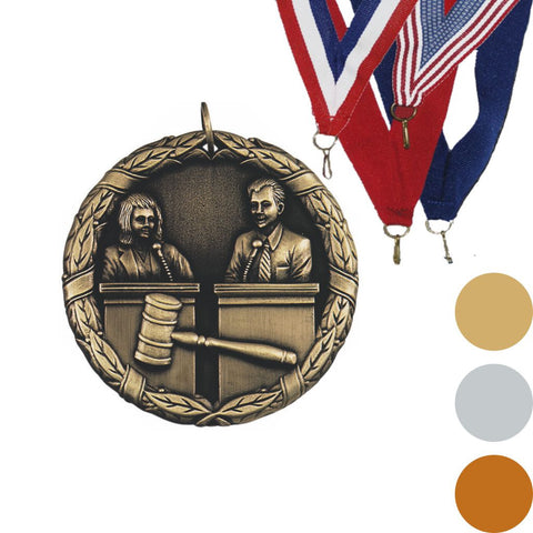 Debate XR Medal, 2""