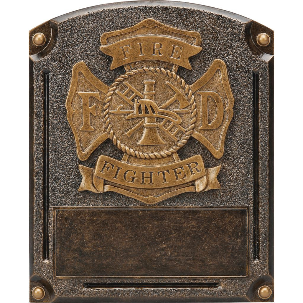 Fire Fighter Legends of Fame Resin