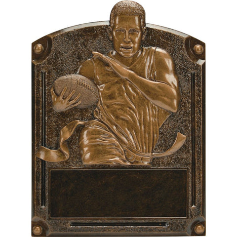 Flag Football Legends of Fame Resin