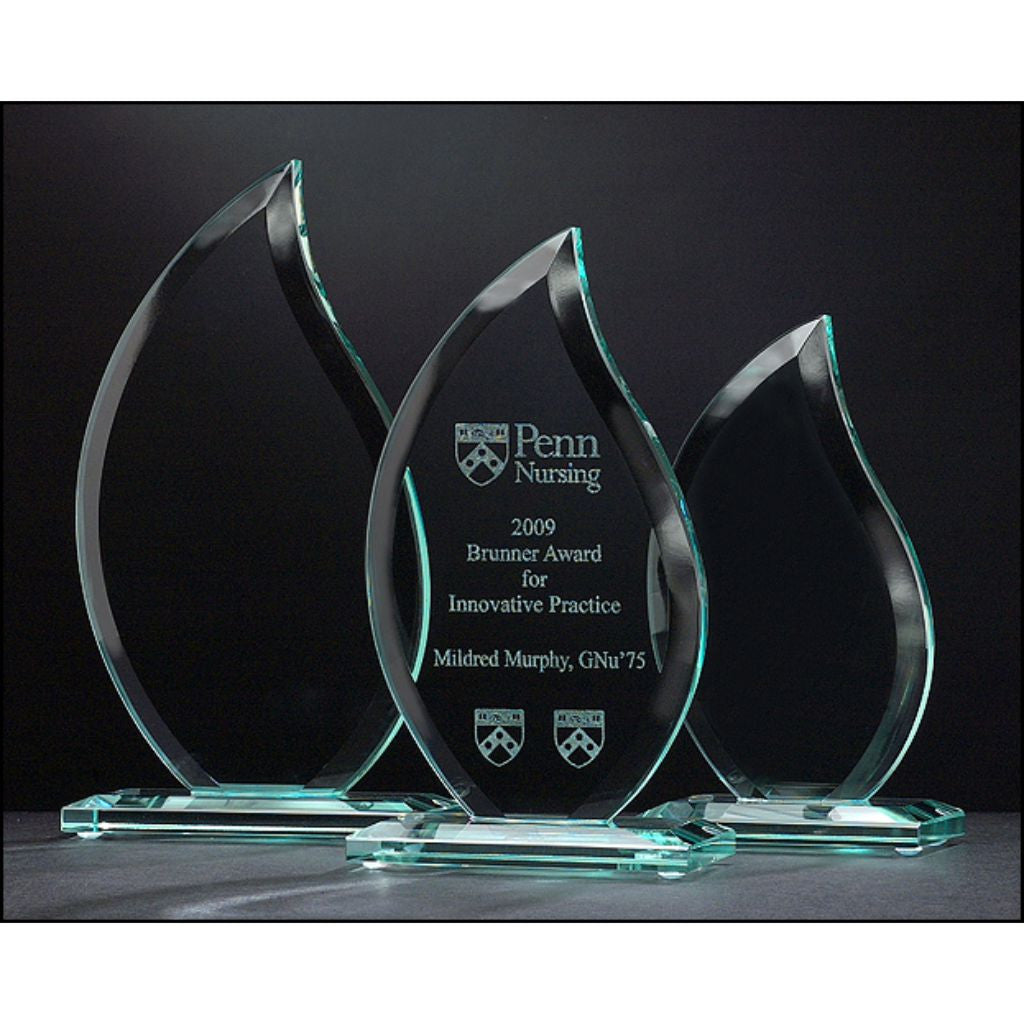 Flame Series Glass Award