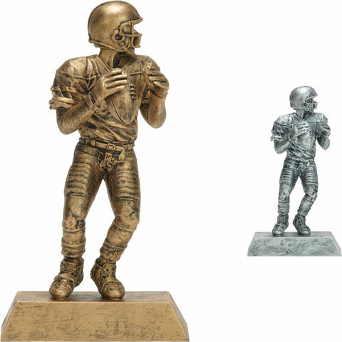 Football Quarterback, Male, Figure Resin in Both Colors