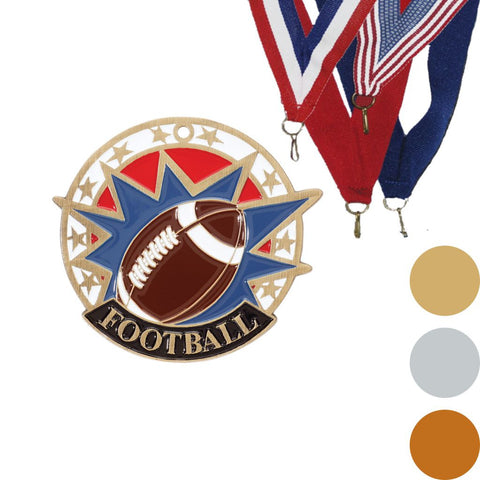 Football USA Sport Medal, 2""