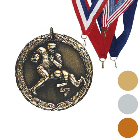 Football XR Medal, 2""