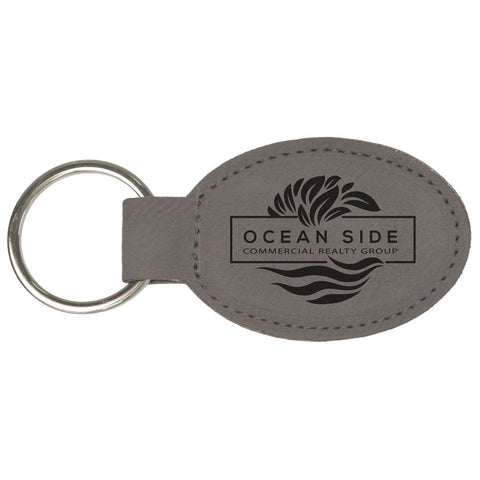 Oval Keychains, 15 Colors