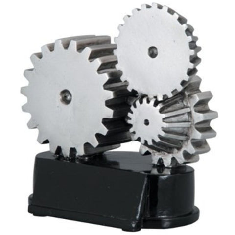 Gears Resin shown at an angle