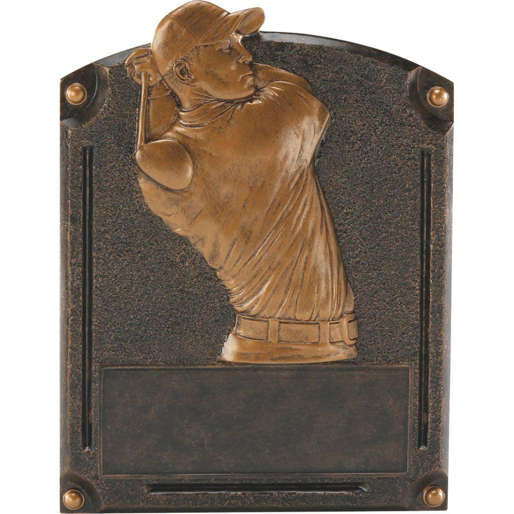 Golf, Male, Legends of Fame Resin