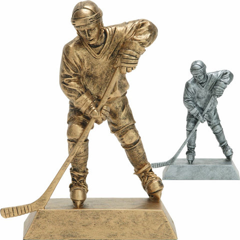 Hockey, Male, Resin Figure in both colors