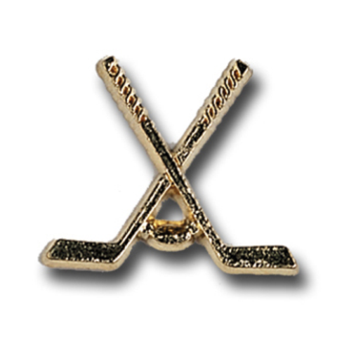 Hockey Metal Chenille Letter Insignia with Optional Display Case, Pack of 25
