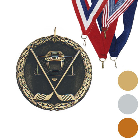 Hockey XR Medal, 2""