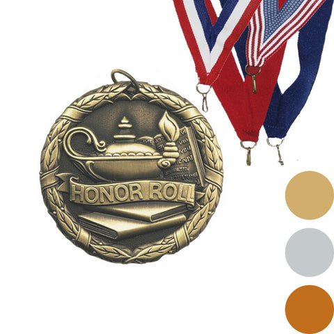 Honor Roll XR Medal, 2""