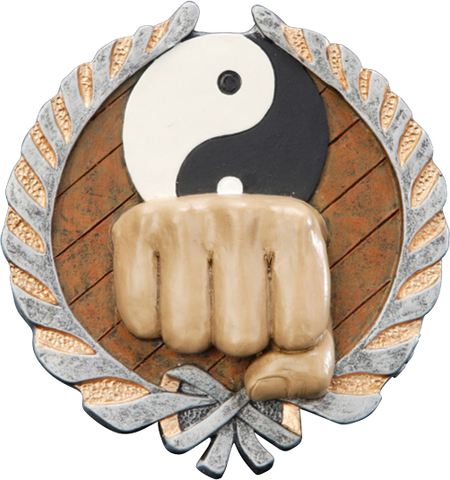 Karate Resin Plaque Mount