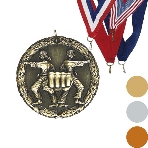 Karate XR Medal, 2""