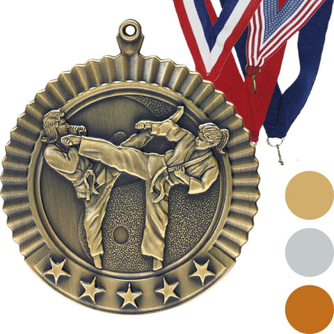 Karate, Female, Star Medal, 2 3/4""