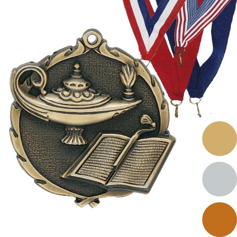 Knowledge Wreath Medal, 2 1/2""