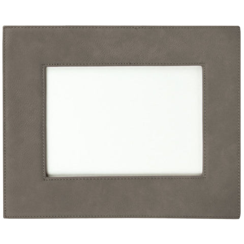 Leatherette Picture Frames, 3 Sizes