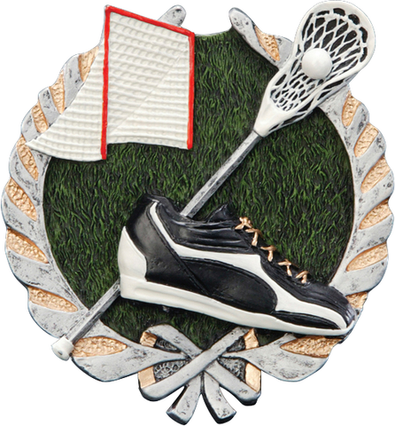 LaCrosse Resin Plaque Mount