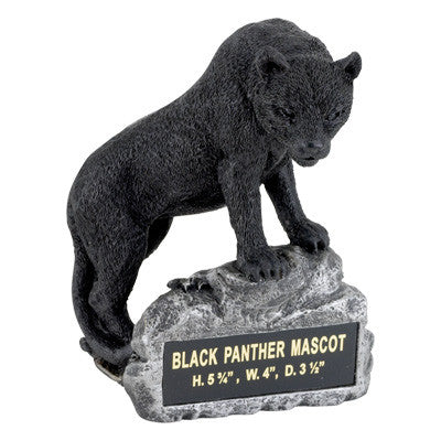 Mascot Black Panther Resin