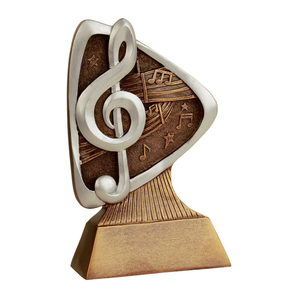 Music Triad Resin Trophy