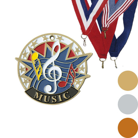 Music USA Sport Medal, 2""