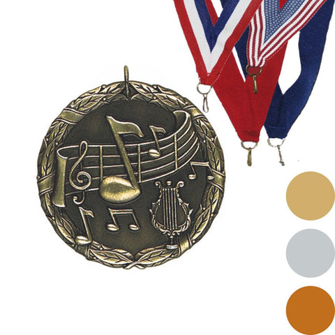 Music XR Medal, 2""